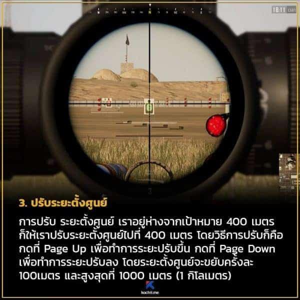 เทคนิคการใช้ scope x8 x15